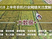 农机通2018上半年农机行业网络关注度解读