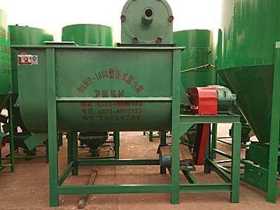 卫新9HWP-1000卧式饲料混合机7.5KW