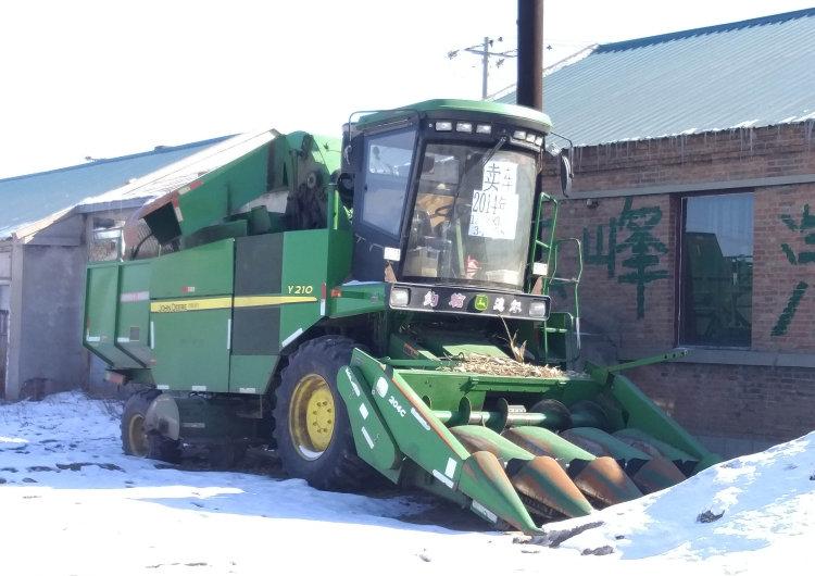 出售2014年约翰迪尔y210玉米收割机