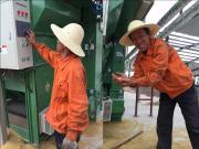 中联重科智能化干燥装备保障小米丰收
