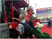 山东宁联参加2015中国国际农业机械展览会 满载而归