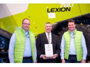 """科乐收(CLAAS)LEXION700系列联合收割机荣获汉诺威展会""""2016年度产品奖"""""""