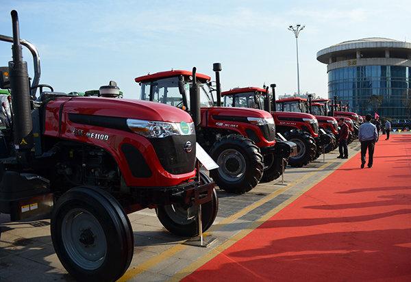 五征拖拉机产品系列展示