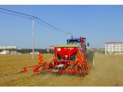 新型小麦种植设备 日播种面积可达300多亩