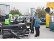 内蒙古大客户一次性采购11台雷沃方捆机