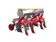 春耕大作战:勺轮式玉米播种机要看农哈哈2BYSF-4