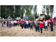 麦赛福格森系列拖拉机演示会在新疆阿拉尔成功召开