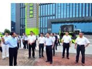 安徽省委常委、合肥市委书记宋国权为中联重科农业机械点赞