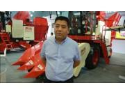 创新技术成就高端产品  科乐收农业机械闪耀泰山农机博览会