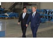 德国驻华公使走访德国LEMKEN青岛工厂