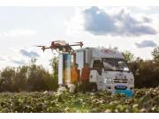 作业超2600万亩次,服务65%新疆棉田,极飞助力中国棉走向世界