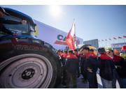 凯斯在2019新疆农业机械博览会上展示了即将发售的全新拖拉机机型