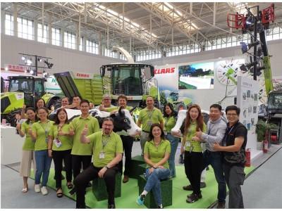科乐收(CLAAS)致敬中国奶业振兴发展——参展2019中国奶业展览会