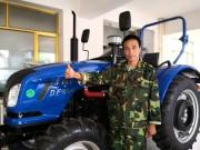 家庭农场主:东风拖拉机质量好,效率高,我打算再买2台!