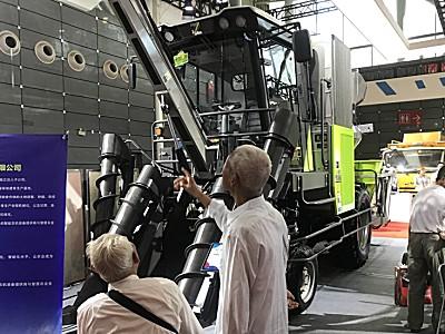聚焦新技术 拥抱新时代——快三开奖贵阳_中联重科农业机械亮相2019世界制造业大会