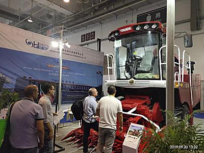 勇猛9QS-300青饲机亮相2019亚洲国际集约化畜牧展