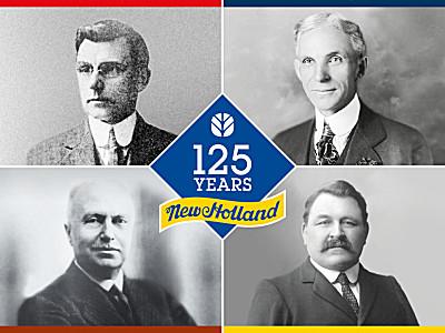 纽荷兰农业机械庆祝品牌成立125周年