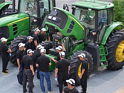 約翰迪爾助力淄博市農機職業技能大賽
