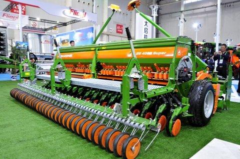 2017武汉国际农机展阿玛松播种机风采