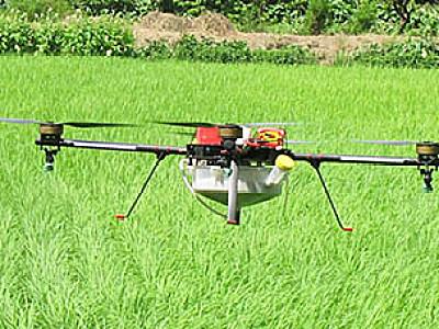 羽人谷上飞3WDM4-10型植保无人机