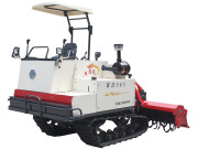 沃得猛龙385履带式旋耕机