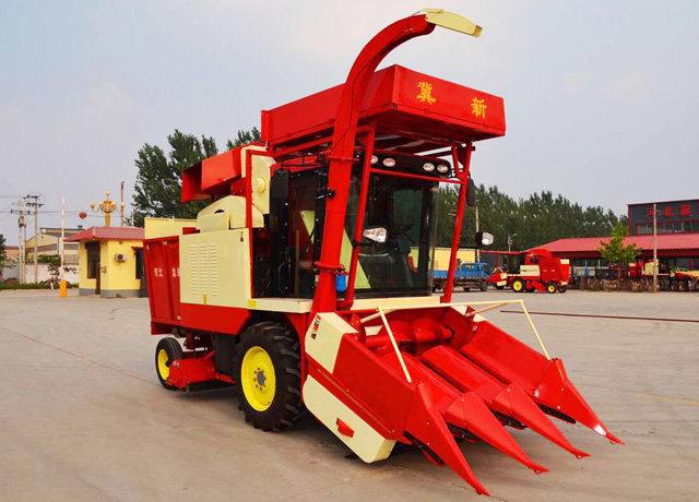 冀新4YZQ-3D玉米收割机