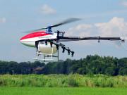3ZD-10D电动单旋翼植保无人机