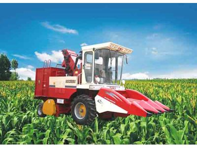 双箭王4YZ-3玉米收割机
