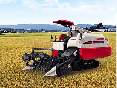 洋马AW85GR(4LZ-3A)全喂入稻麦联合收割机