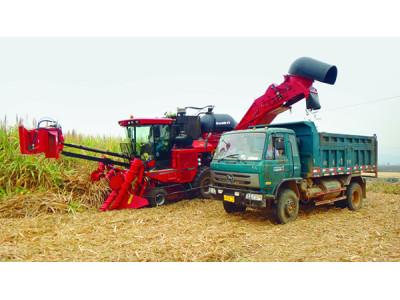 凯斯8000甘蔗收获机