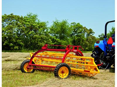 纽荷兰256栅栏式搂草机