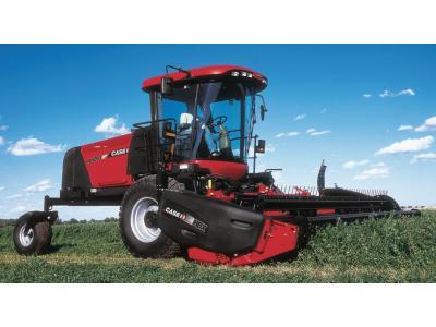 凱斯WD1203自走式割草壓扁機