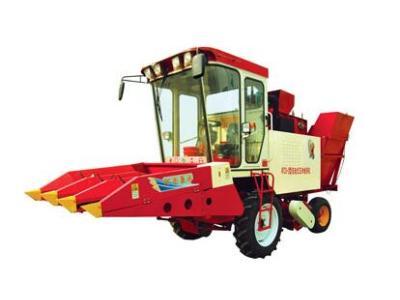 豪丰4YZX-3自走式玉米收获机