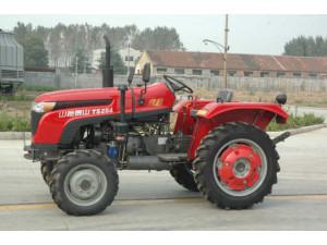 五征35马力拖拉机_四轮驱动 产品介绍 产品名称:超越ts354轮式拖拉机 生产厂家:山东五征