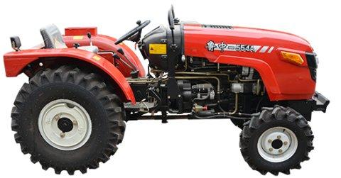 生产厂家:山东潍坊鲁中拖拉机有限公司 匹配55马力国内名优国三发动机