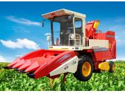 4YZ-4型玉米收获机