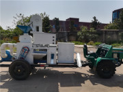 四轮车载碾米机碾米机