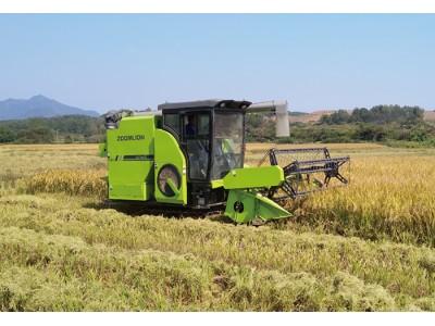 中联谷王PL60(4LZT-6.0ZC)水稻收割机