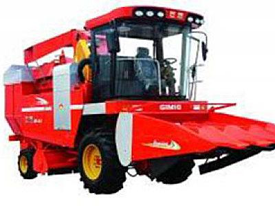 巨明4YZP-452新四代升级玉米联合收获机