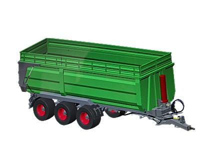 牧神7CX系列三桥(双桥)全挂自卸拖车系列