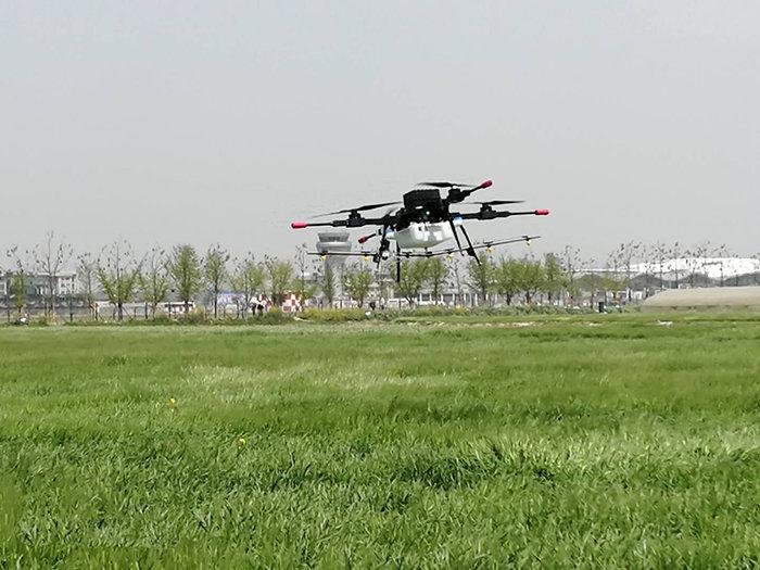 汉和金星一号电动多旋翼植保无人机
