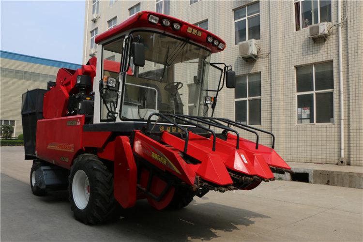 洛阳福格森4YZ-4R自走式玉米联合收割机