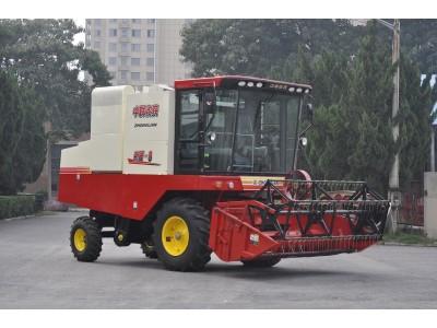 中联收获新疆4LZ-8B全喂入谷物联合收割机