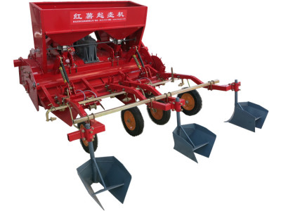 洪珠2CM-2/1H型红薯起垄施肥覆膜一体机