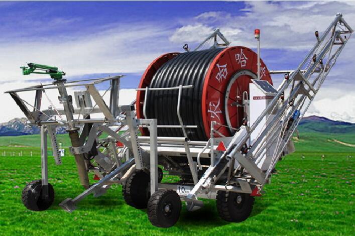 产品 排灌机械 卷盘式喷灌机 农哈哈jp75-300绞盘式喷灌机  产品名称图片
