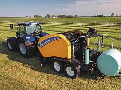 纽荷兰RB125圆捆式打捆机