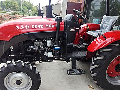 万年红604E拖拉机