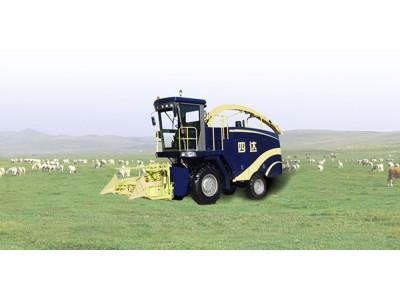 洛阳四达4QZ-10A自走式青贮饲料机