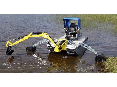 Doro挖掘机-水中作业