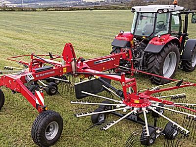 麦赛福格森MF RK802转子式搂草机